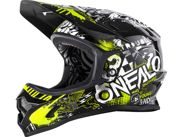 ONeal Backflip RL2 Evo Helmet Youth ATTACK black/yellow